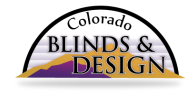 Welcome to Colorado Blinds & Design, the leading source for window coverings in Loveland, Fort Colllins, Denver and Boulder!